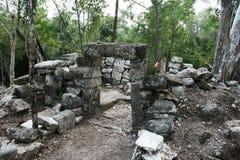 Mayan observatory Stock Photo