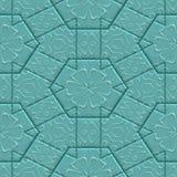 Mayan ornament seamless texture Stock Image
