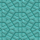 Mayan ornament seamless texture Stock Photos