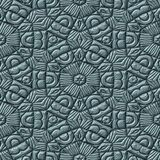 Mayan ornaments seamless generated texture Royalty Free Stock Photo