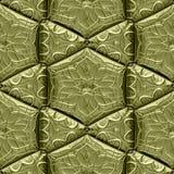 Mayan ornaments seamless hires generated texture Stock Photos