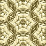 Mayan ornaments seamless hires generated texture Royalty Free Stock Image