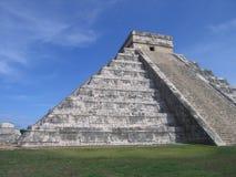 Mayan Piramide van Chitzen Itza stock foto