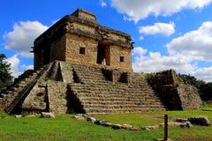 Mayan piramidechichenitza Stock Afbeeldingen