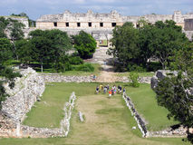 Mayan Playground Stock Image