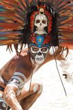 Mayan portret Royalty-vrije Stock Fotografie