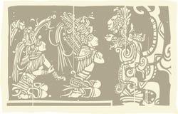 Mayan Priests Vision A Stock Image