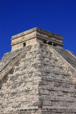 Mayan pyramid. Known as el castillo, as part of the archaeological site of chichenitza in yucatan, mexico stock image