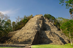 Mayan pyramid Stock Photo