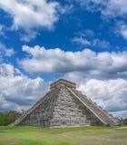Mayan pyramid Arkivfoto