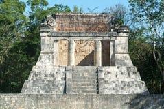 Mayan pyramid of Barbado in Chichen Itza Stock Photos
