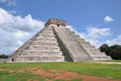 Mayan pyramid. In Chichen Itza Stock Photo