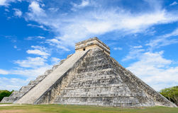 Mayan Pyramid at Chichen Itza, Mexico Stock Photography