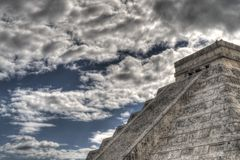 Mayan pyramid Royalty Free Stock Photos