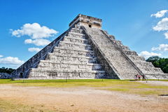 Mayan pyramid in Chichen-Itza, Mexico Stock Image