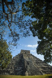 Mayan pyramid Royalty Free Stock Photography
