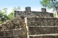 Mayan pyramid, Coba, Mexico Royalty Free Stock Photography