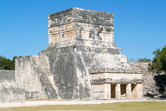 Mayan pyramid of Jaguares in Chichen Itza Stock Photo