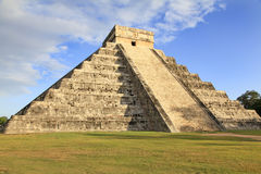 Mayan pyramid of Kukulcan in Chichen-Itza, Mexico Stock Images