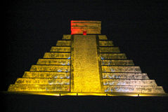 Mayan pyramid of Kukulcan El Castillo in Chichen Itza Stock Photos