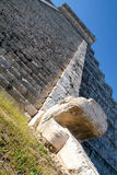 Mayan pyramid of Kukulcan El Castillo in Chichen Itza. Mexico Stock Photography