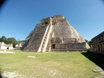 The Mayan pyramid in Thailand royalty free stock images
