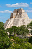 Mayan pyramid (Pyramid Royalty Free Stock Images