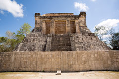 Mayan pyramid ruin in Chichen Itza Royalty Free Stock Photography