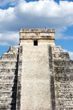 Mayan Pyramid at Chichen Itza Royalty Free Stock Photos