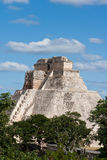 Mayan pyramid. Uxmal, Mexic Stock Photography