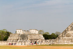 Mayan pyramid Royalty Free Stock Image