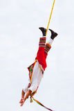 Mayan reklambladman i dansen av reklambladen Royaltyfria Foton