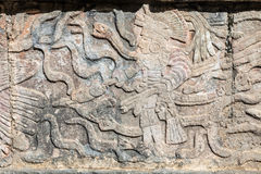 Mayan reliefs Royalty Free Stock Photography