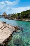 Mayan Riviera Paradise. Yucatan, Mexico Royalty Free Stock Photography