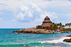 Mayan Riviera Paradise Stock Image