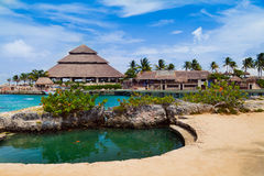 Mayan Riviera Paradise Royalty Free Stock Photography