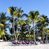 Mayan Riviera tropical beach Stock Image