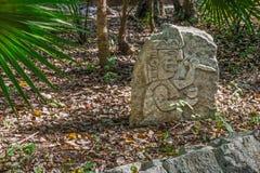Mayan Rock Stock Images