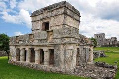 Mayan ruïne Stock Foto