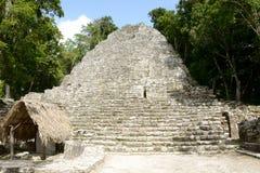 Mayan ruïne van Chichenitza Royalty-vrije Stock Afbeeldingen