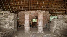 Mayan ruïneert Mexico Royalty-vrije Stock Foto's