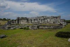 Mayan Ruïnes Royalty-vrije Stock Foto