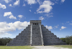 Mayan ruïnes bij chichen itza, Mexico Royalty-vrije Stock Afbeeldingen