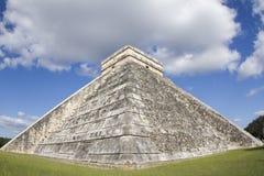 Mayan ruïnes bij chichen itza, Mexico Royalty-vrije Stock Afbeelding