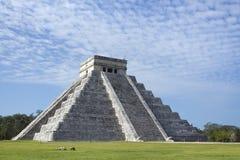 Mayan ruïnes bij chichen itza, Mexico Royalty-vrije Stock Foto's