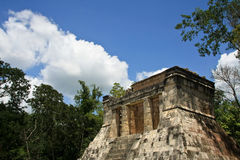 Mayan Ruïnes in Chichen Itza Stock Foto