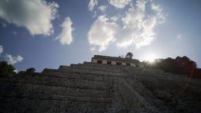 Mayan ruïnes in Palenque, Chiapas, Mexico stock videobeelden
