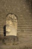 Mayan ruïnes Tikal, Guatemala stock fotografie
