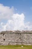 Mayan ruïnes in Tulum, Mexico Royalty-vrije Stock Afbeelding