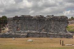 Mayan Ruïnes in Tulum Mexico Stock Foto